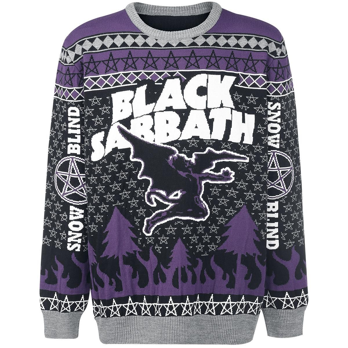 Pull Over Tricoté Black Sabbath Snow Blind Dispo Chez Emp Plus