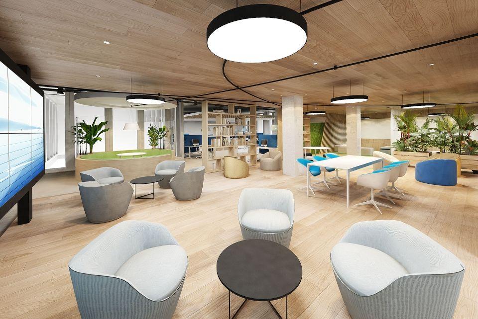 Swiss bureau interior design designed office concept lausanne