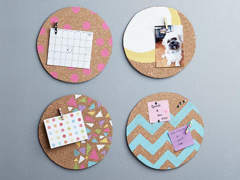 4 tuile de liege babillard bricolage 778x586 vivremieuxwalmart sept2014 bricolage pinterest. Black Bedroom Furniture Sets. Home Design Ideas