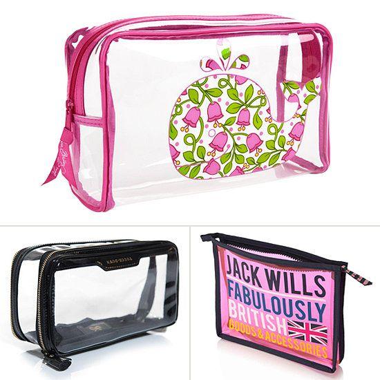Tsa Friendly Makeup Bags You Can See Through Cute Makeup Bags Vinyl Bag Bags