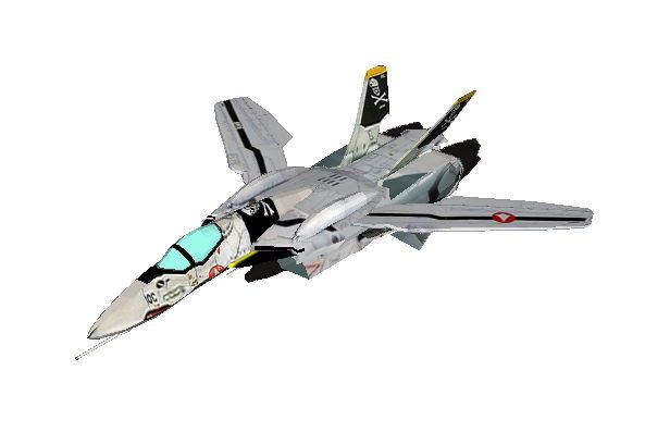 This paper model is a VF-0S Phoenix, a variable fighter in the OVA Macross Zero of the anime series Macross, the papercraft is created by Matrixskull and B