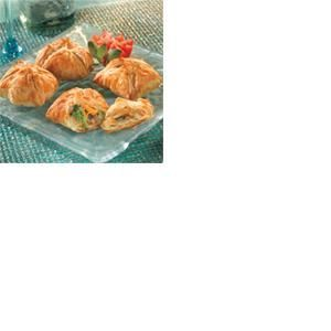 Mushroom, Broccoli & Cheddar Bundles | MyRecipes.com