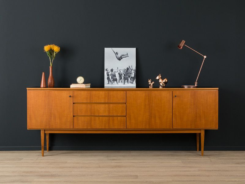 1960er sideboard 50er 60er vintage teak von mid century friends auf mid. Black Bedroom Furniture Sets. Home Design Ideas