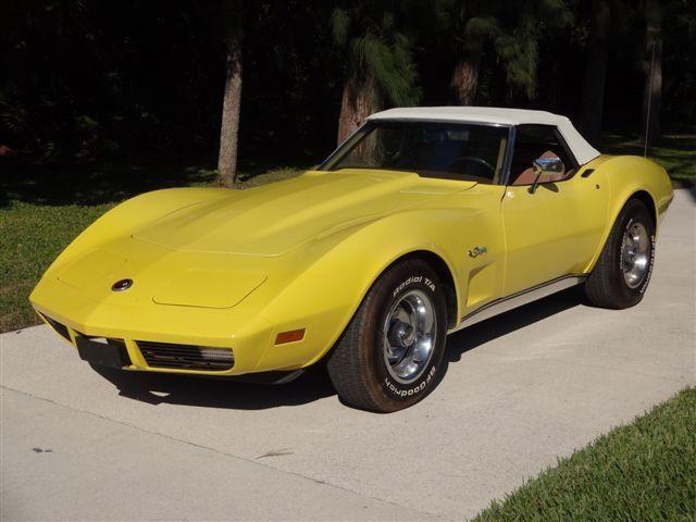 1974 Chevrolet Co rvette Stingray Roadster