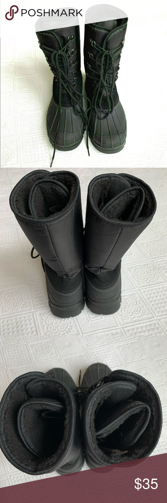 Mens snow boots, Winter boots, Snow boots