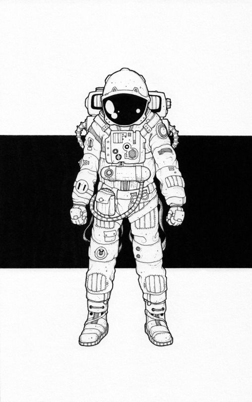 i ve always wanted to be an astronaut and even now at 42 years old i haven t quite given up hope so when jeremy marshall commissioned an illustration and