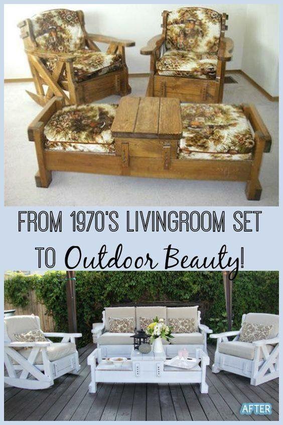 Backyard Deck Furniture Ideas