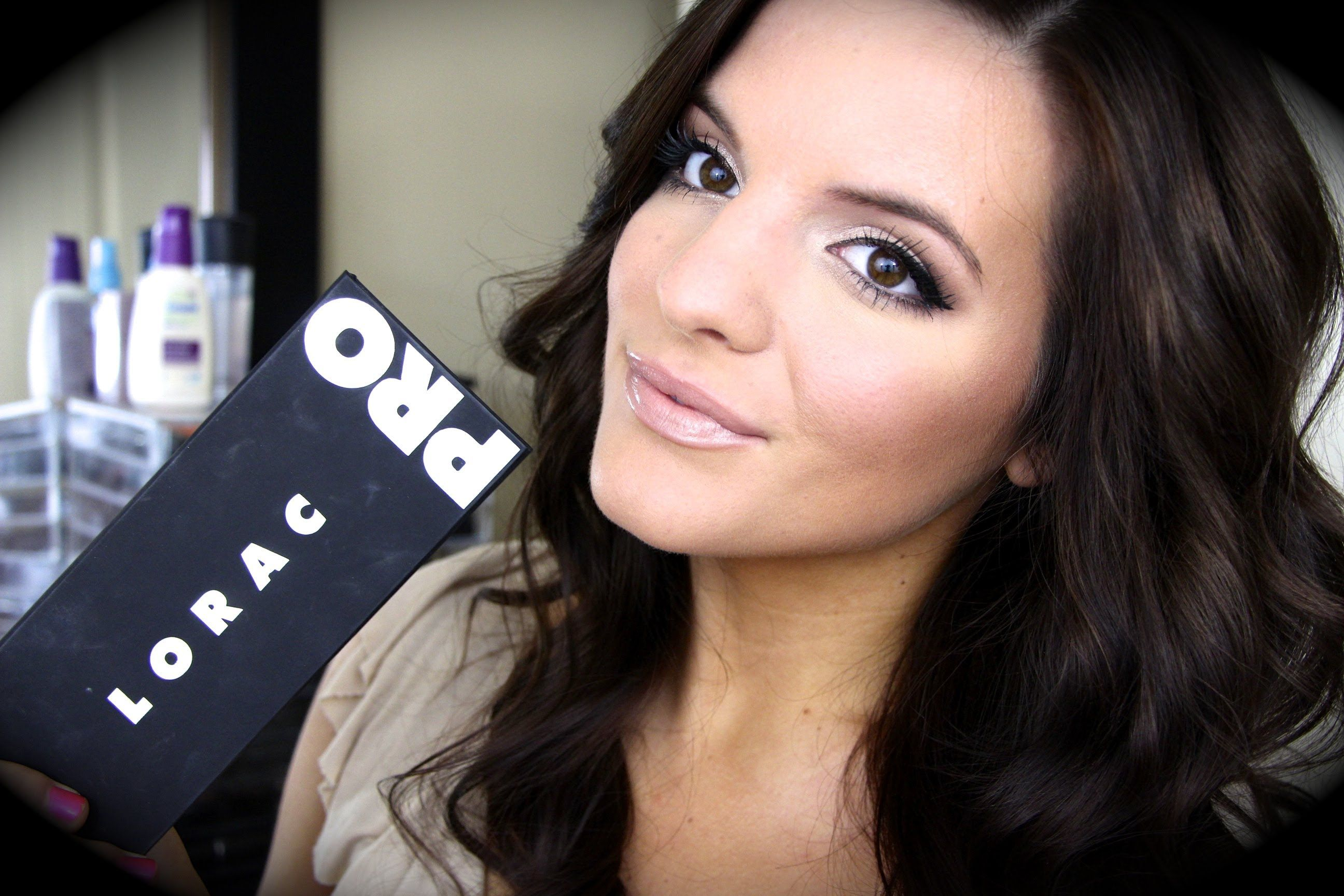 My Favorite Go To Makeup Look With Lorac Pro Palette My Style
