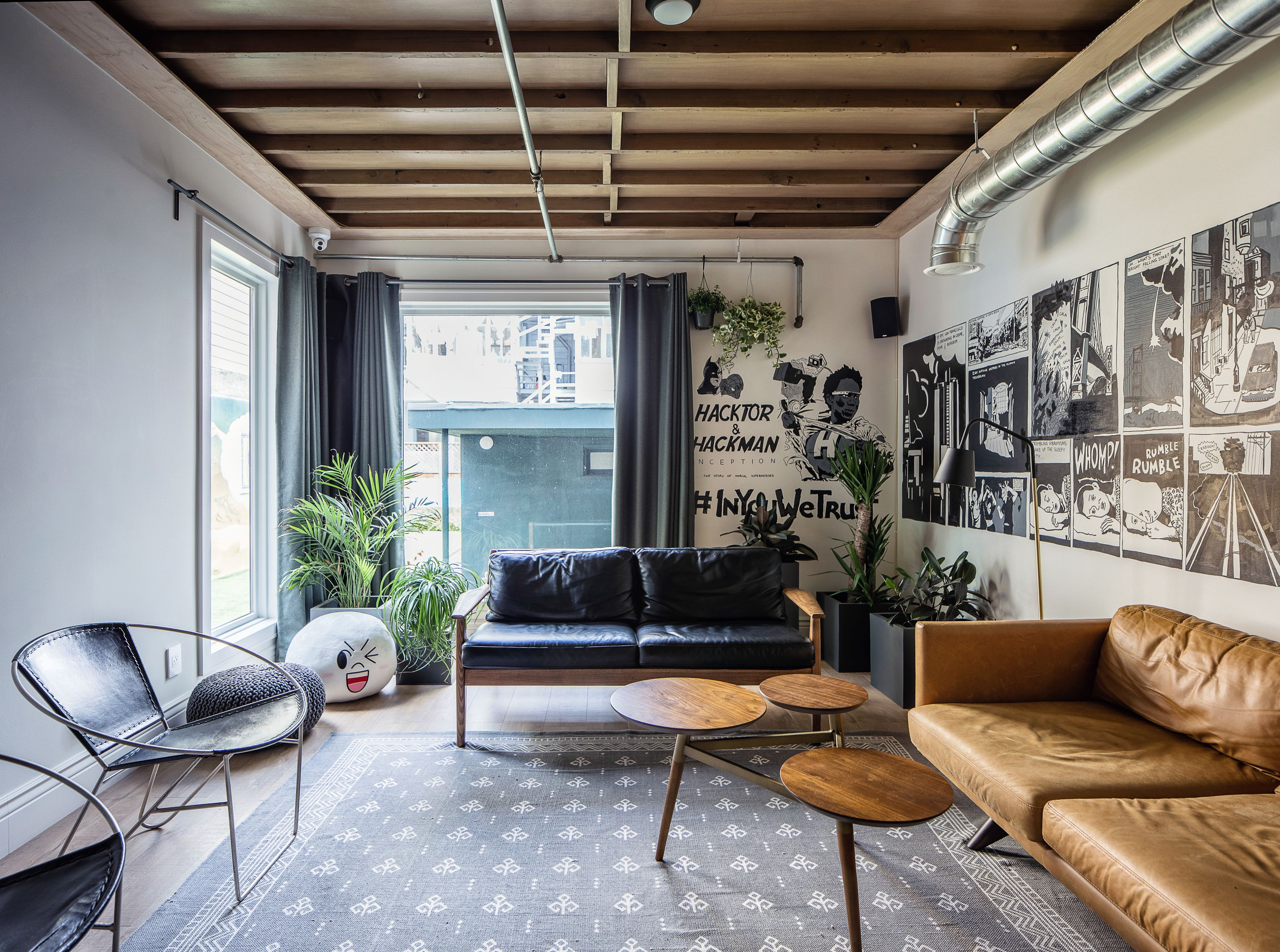 munity coliving in San Francisco on Behance fun head
