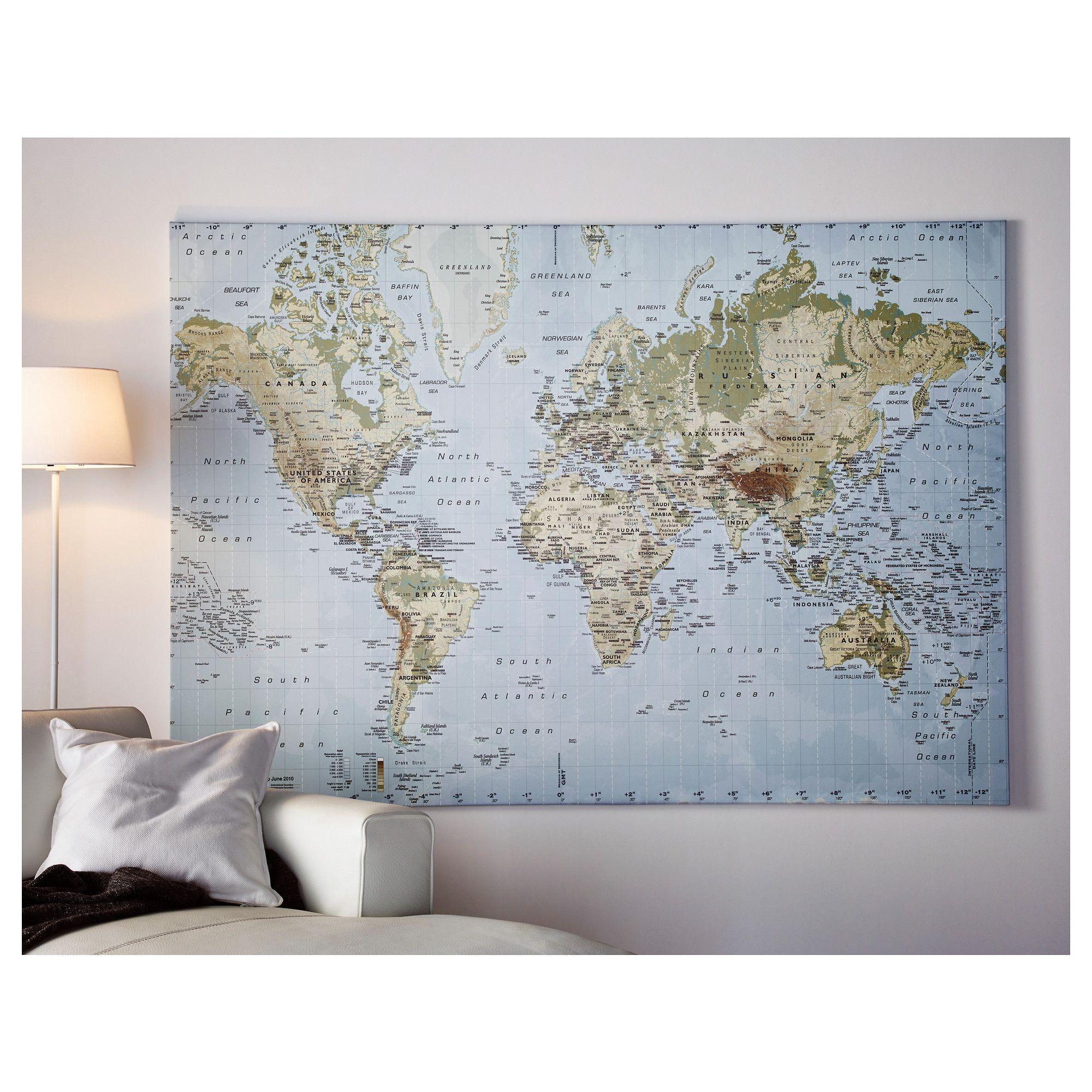 ikea wereldkaart google zoeken home living pinterest bedrooms walls and room. Black Bedroom Furniture Sets. Home Design Ideas