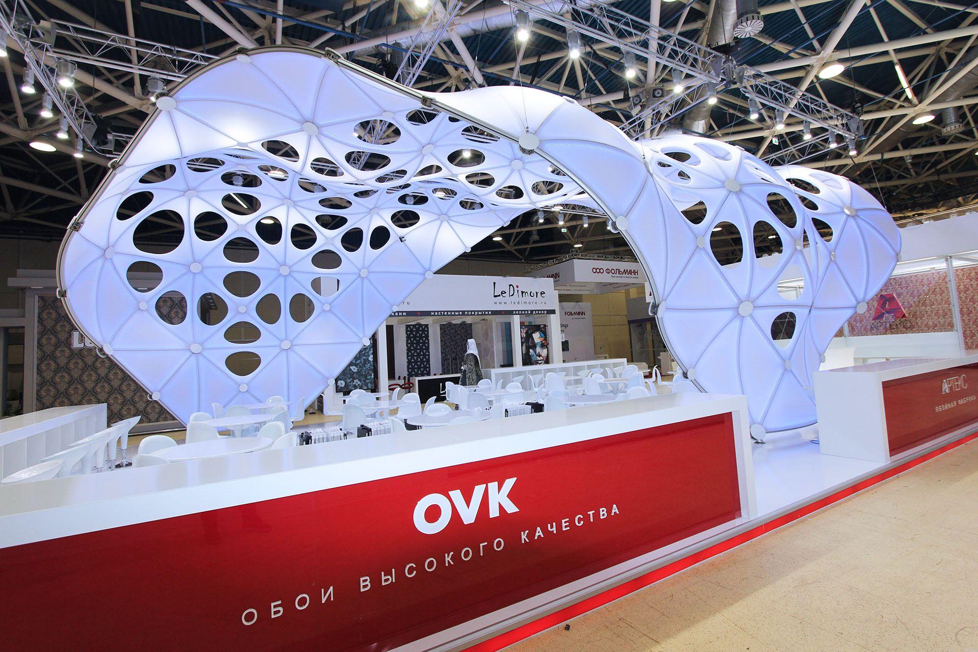 arteks ovk at mosbuild 2018 on behance event spaces pinterest