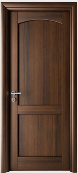 Traditional wooden door in classic style. Colors available …