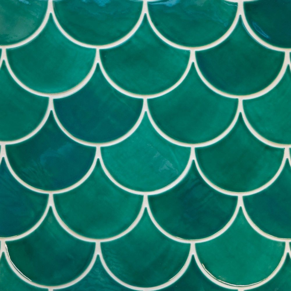 Moroccan Fish Scales | Moroccan, Mosaics and Fish scale tile