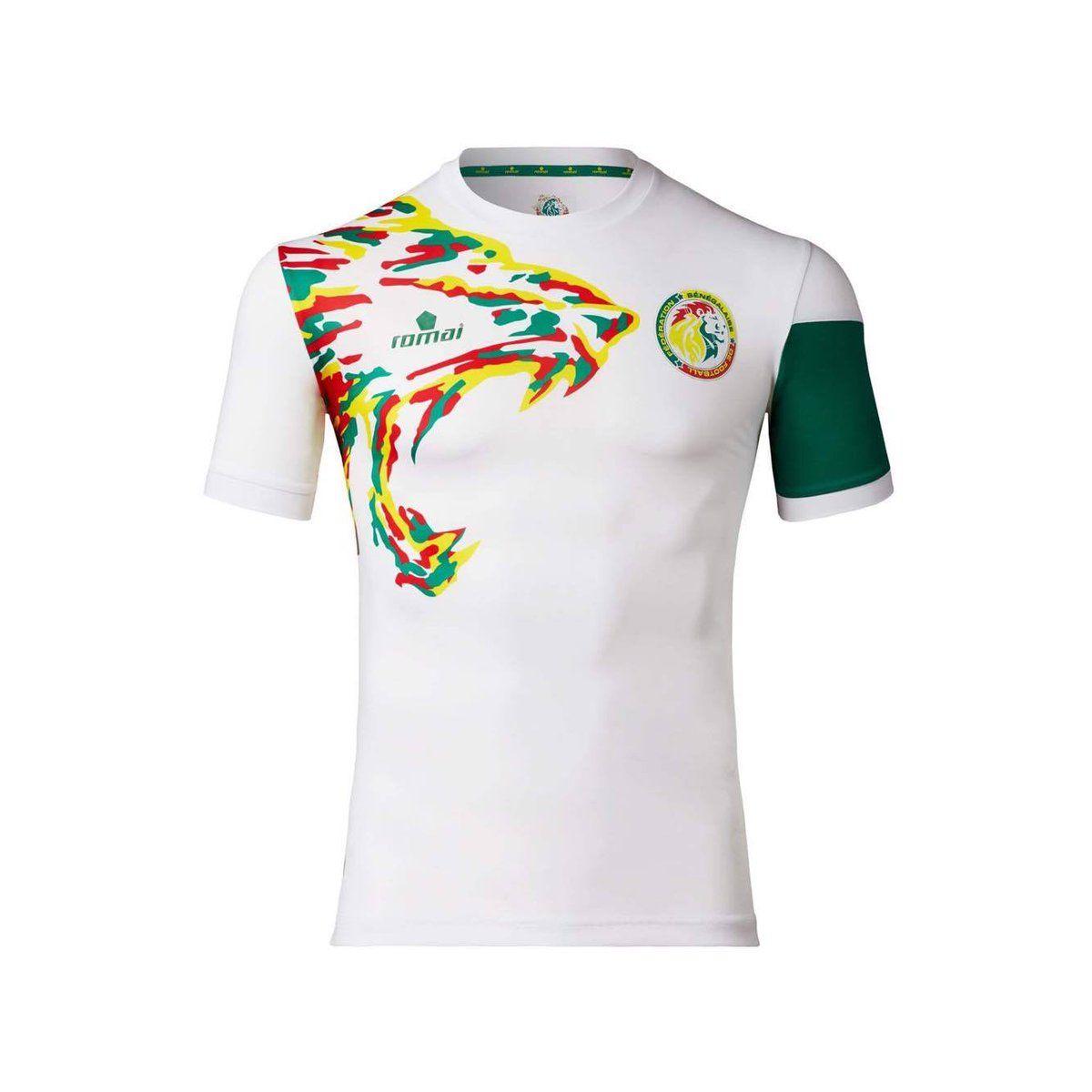 The Glorious Kits Of Afcon 2017 Football Shirts Shirts Senegal