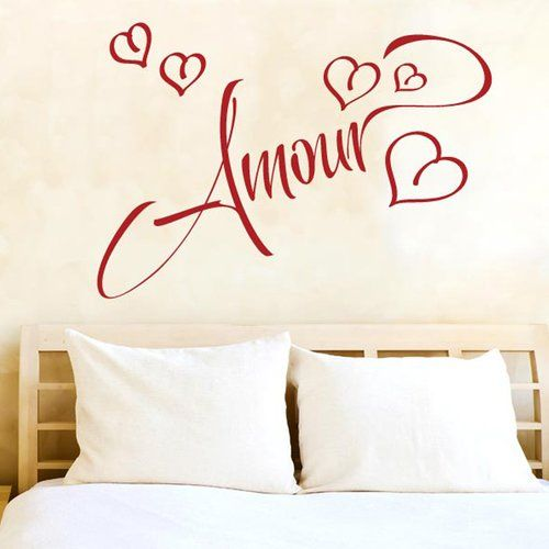 East Urban Home Amour Love In French Wall Sticker Wall Stickers
