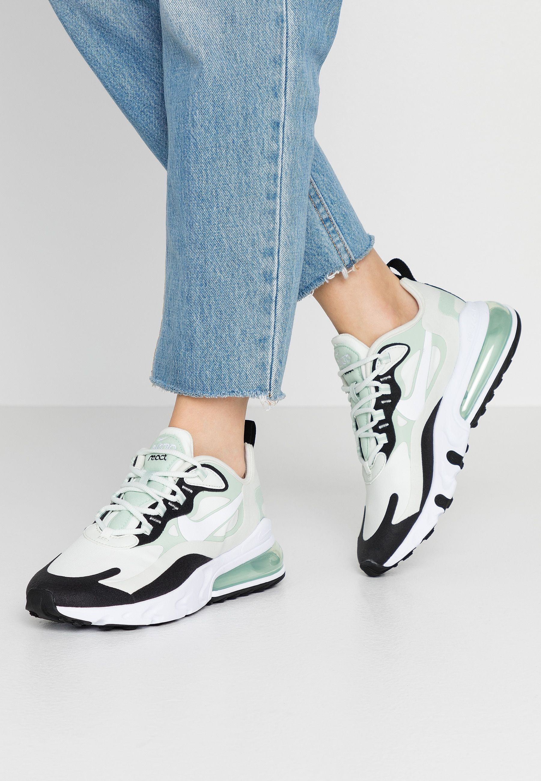 AIR MAX 270 REACT - Sneakers laag - spruce aura/white ...