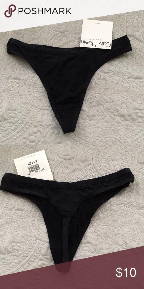 edf026bb413d Calvin Klein thong Calvin Klein seamless thong Calvin Klein Intimates &  Sleepwear Panties