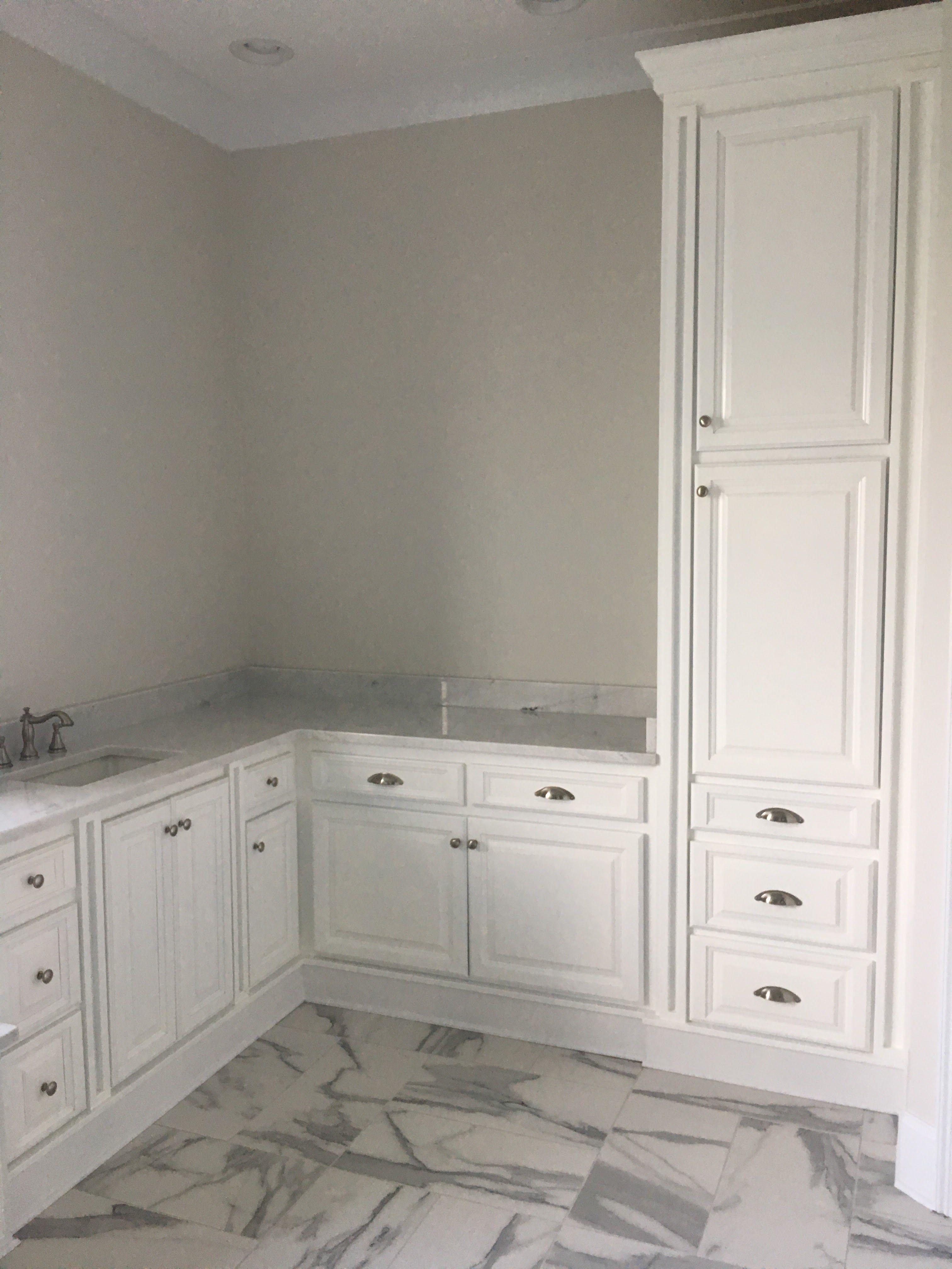 Tall cabinet Laundry RoomsLaundry Room