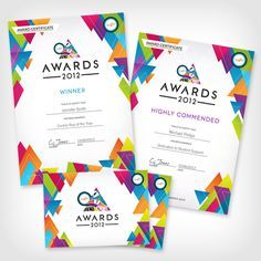 award certificate modern - Google Search | inspiration | Pinterest ...