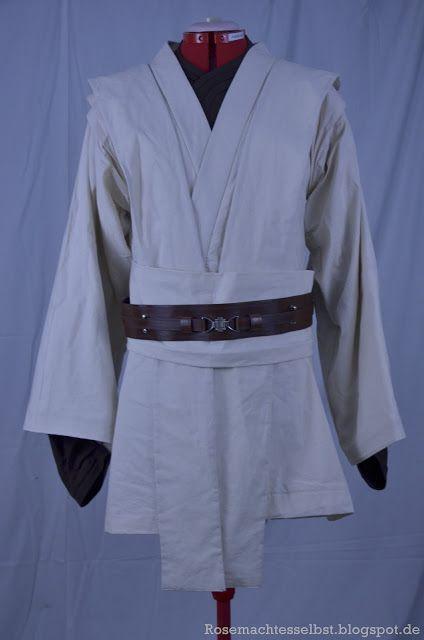 Jedi Kostüm selbst genäht | Nähen | Pinterest | Selbst genäht ...