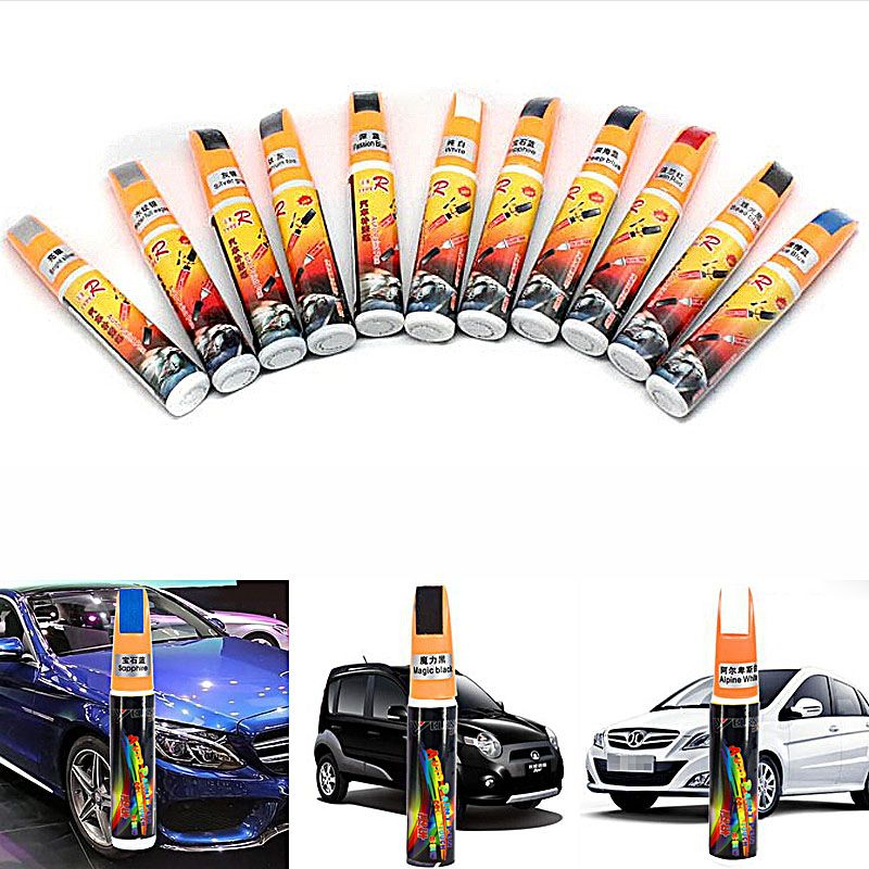 1pcs White Black Silver Gray Blue Yellow Car Paint Scratch