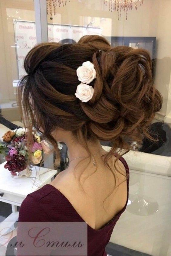 65 Long Bridesmaid Hair & Bridal Hairstyles for Wedding 2017 ...