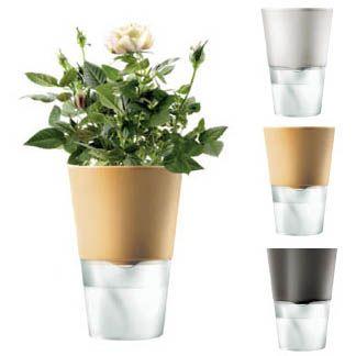 Eva Solo Ceramic Gl Self Watering Flower Pot Peters Of Kensington