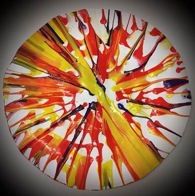 Salatschleudertechnik Material Wasser Farbe Salatschleuder