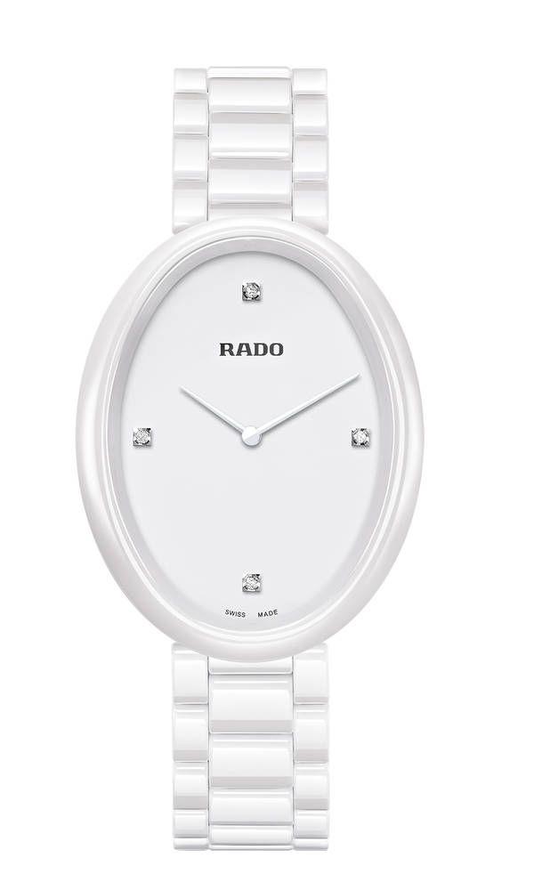 Nuevo reloj Rado Esenza Touch para mujer  Reloj Rado Esenza Touch  277 0092 3 071Rado Esenza Touch en cerámica blanca c8db12c1f926