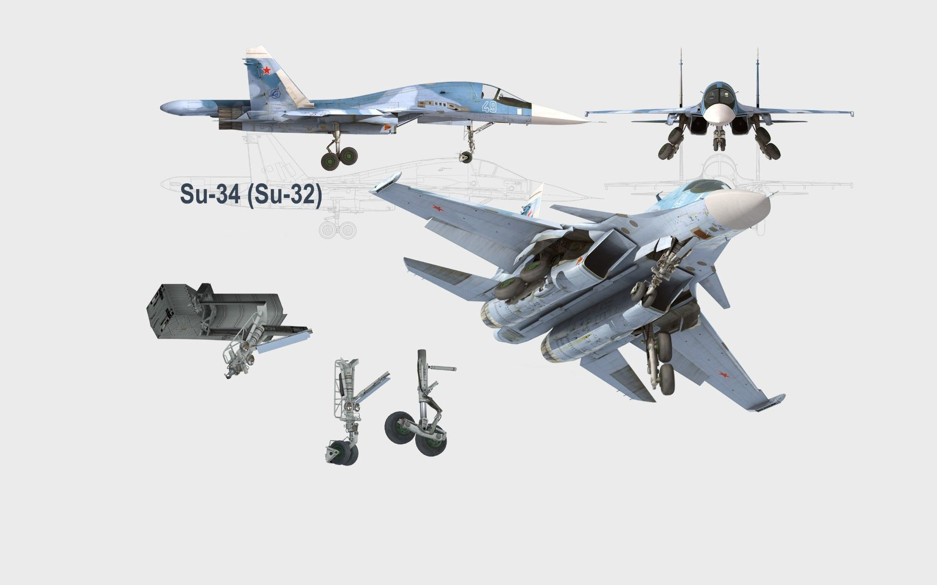 Military Sukhoi Su 34 Artistic Art Russia Russian Schematic Air Force Airplane Aircraft Wallpaper