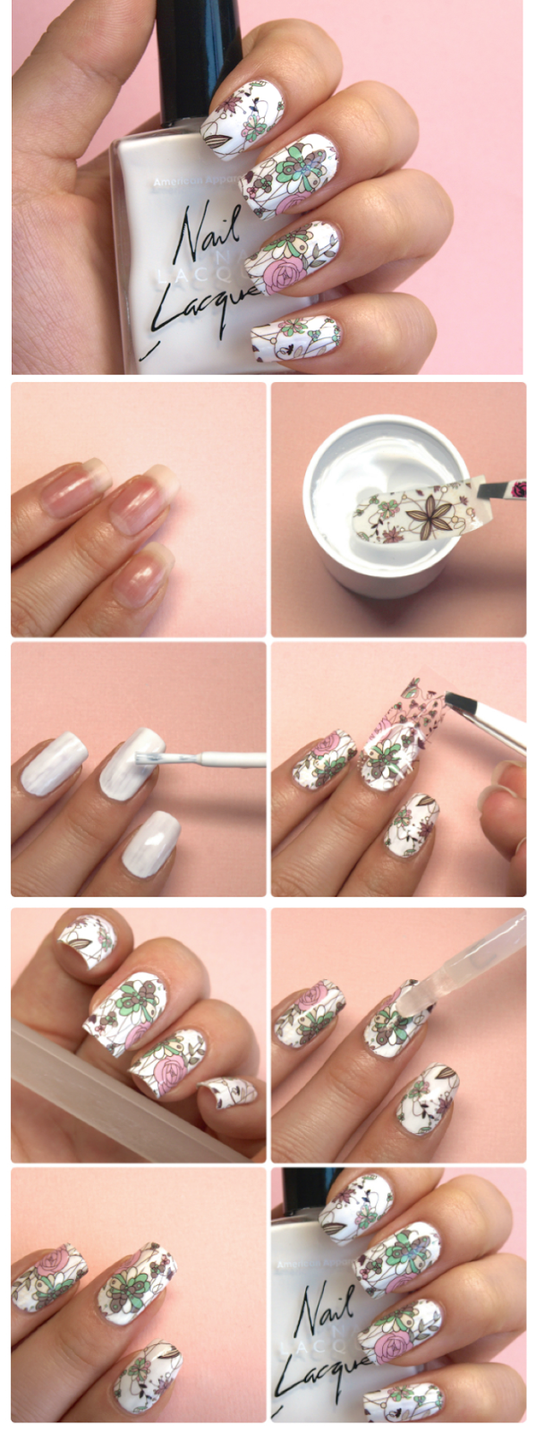 Floral Manicure: A Comprehensive Guide To Full Nail Water