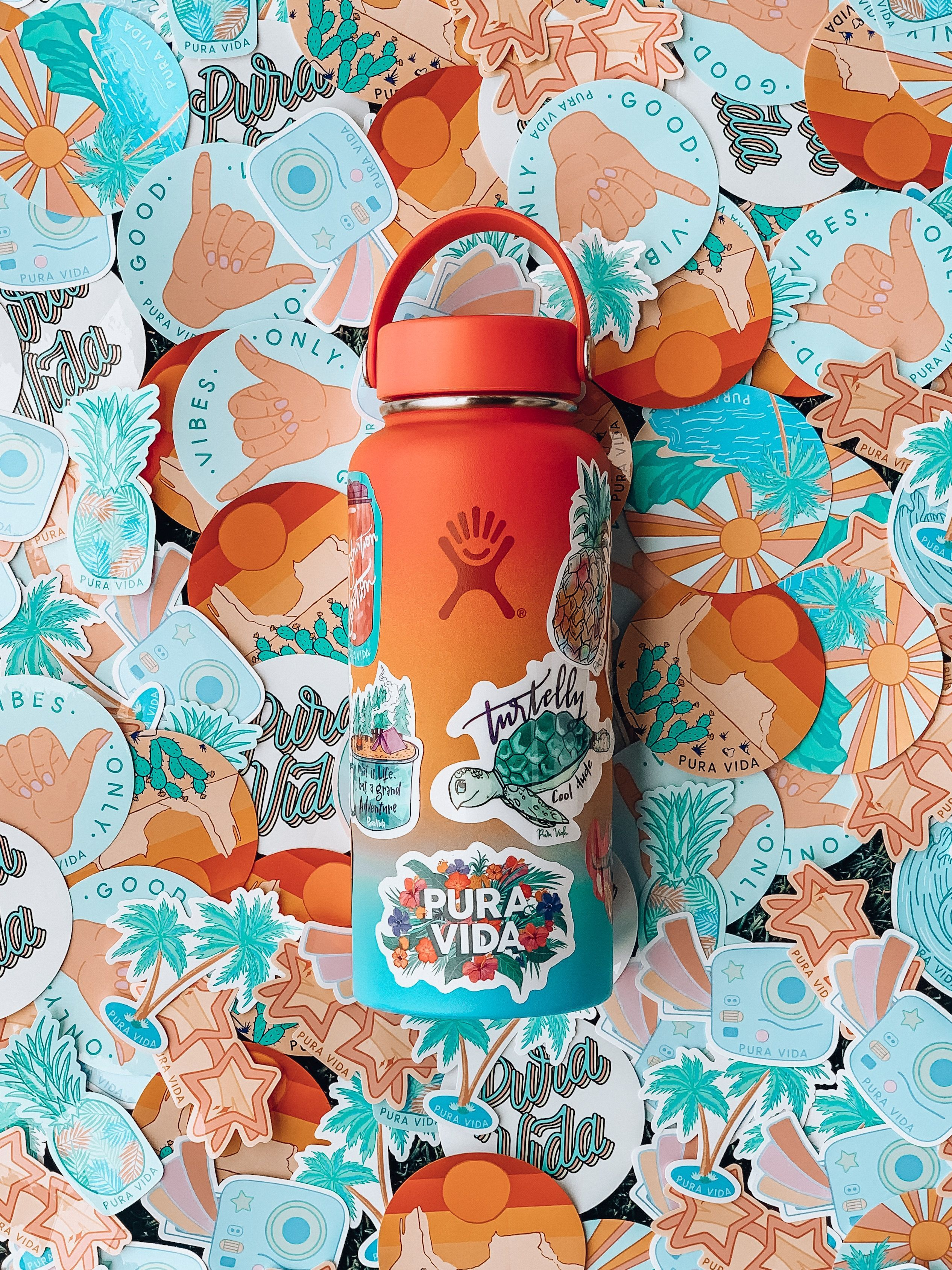 Hydro Flask Shave Ice Limited Edition 32 oz Wide Mouth bottle | Pic: @puravidabrac #hydroflask