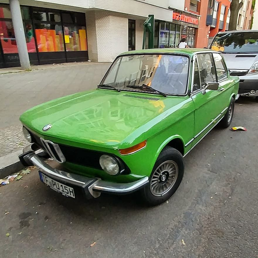 The first BMW Serie 2 or BMW 02 (1966-1977). This was the first ...