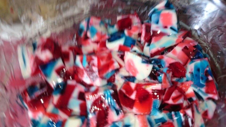 Fourth of july jello