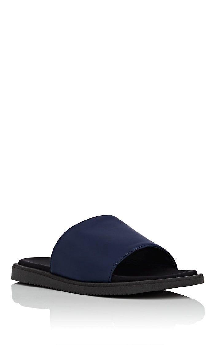 3347e5144 Barneys New York Neoprene Slide Sandals - 11 M Navy