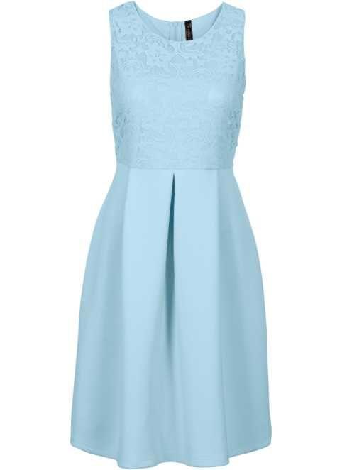 Kleid in Scubaoptik, BODYFLIRT boutique, Corydalis Blue   Wedding ...