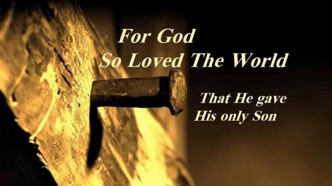 541 For God So Loved The World Oslo Gospel Choir