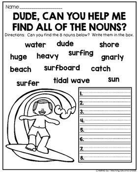 Noun Activities | Noun 4 | Nouns worksheet, Teaching nouns ...