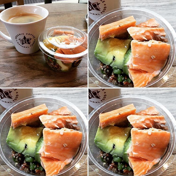 really impressed with pret a manger protein pots about time the uk started healthier food on the go a americano protein contestprep shredz