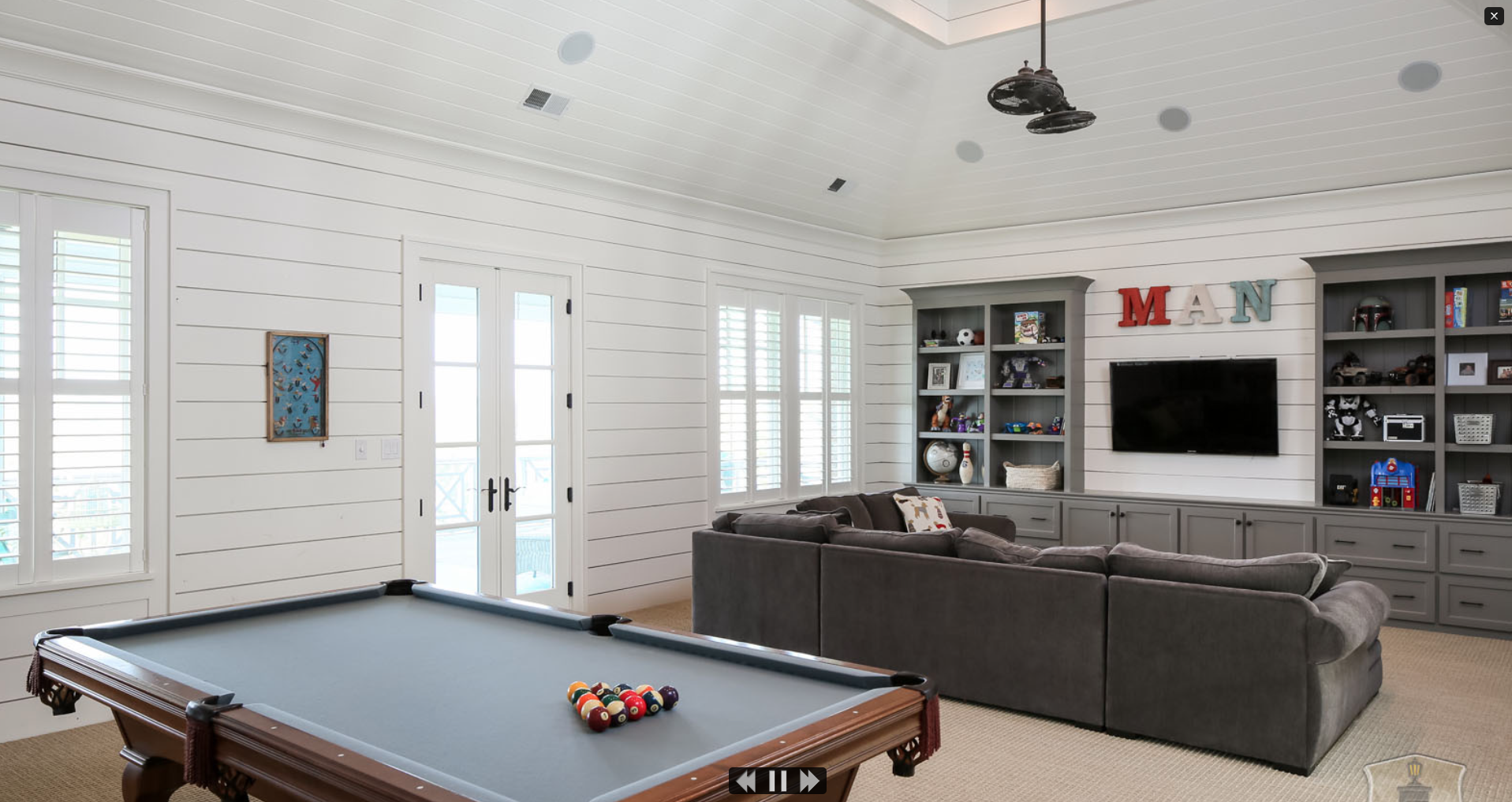 Inspirational New England Basement