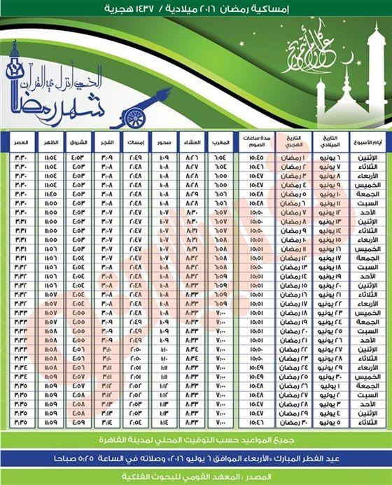 امساكية شهر رمضان 2016 1437هـ موعد اول ايام رمضان فلكيا Ramadan Map Map Screenshot