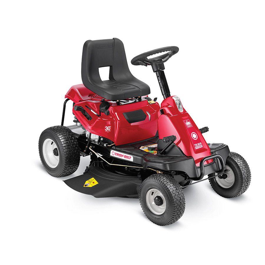 Troy Bilt Tb30r Hydro 10 5 Hp Hydrostatic 30 In Riding Lawn Mower Lawn Mower Riding Lawn Mowers
