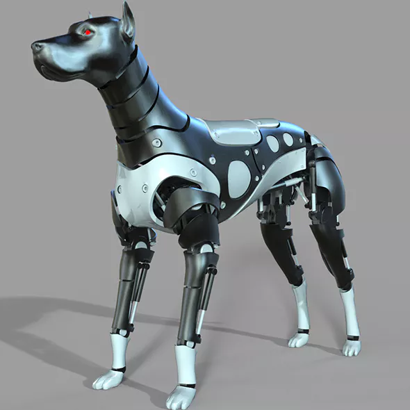 Pictures Of A Robot Dog