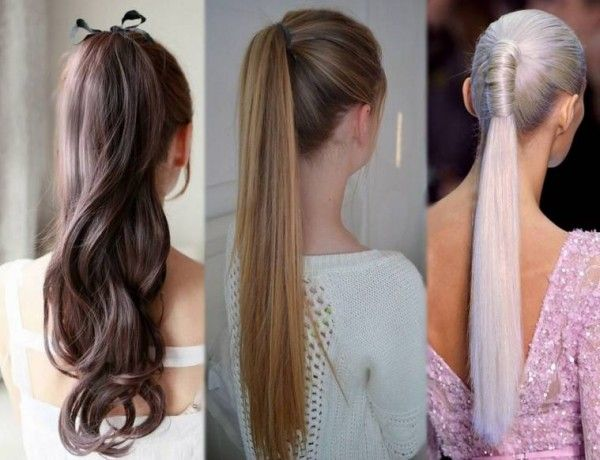 Different Hairstyles For Long Hair Cool Ponytailstop 8 Nice Cut Hairstyle For Long Hair With Different
