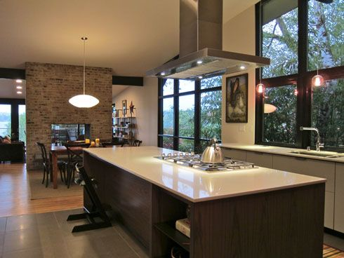 Best Mid Century Modern Addition Remodel Condo Kitchen 400 x 300