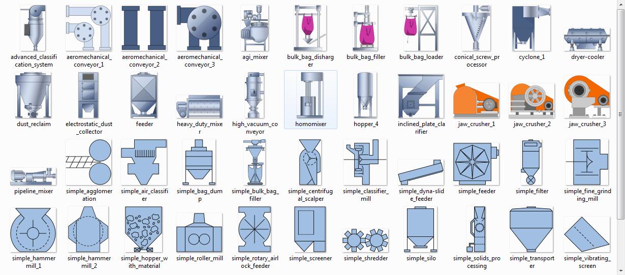 Hmi Symbol Library Industrial Control Scada Hmi Linux