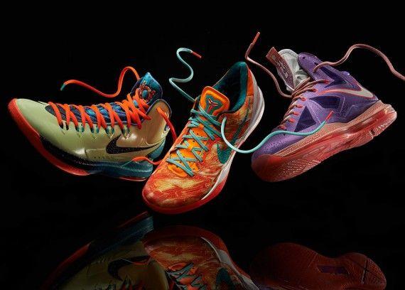 """Nike Basketball """"Area 72″ Collection"""