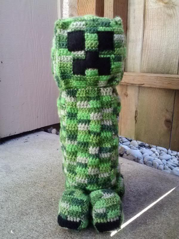 Minecraft Creeper Pattern Crochet T Creepers Party