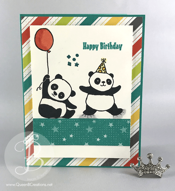 stampin up party pandas and bubbles and fizz dsp 2018 sale a