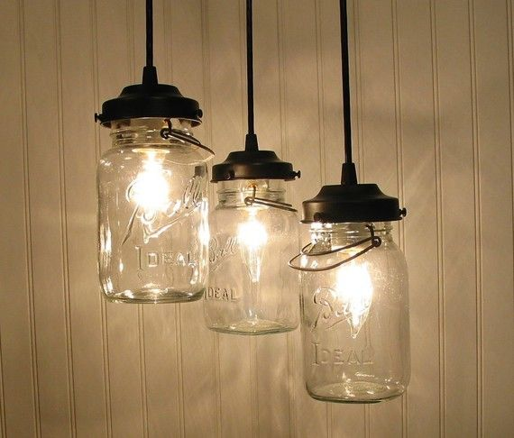 How Cute Would These Be Over An Island Or Kitchen Table Jar